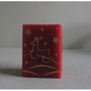 printed candle